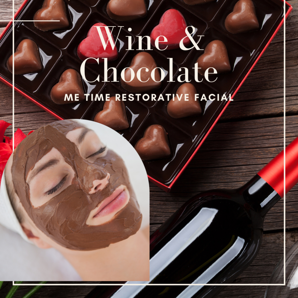 Wine and Chocolate Valentines Day Special at Elements Spa